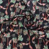 "Tissu jersey coton ""DIGITAL"" / réf : 12333"