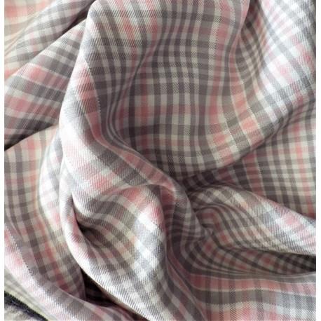 Tissu twill viscose à fils lurex / 22895