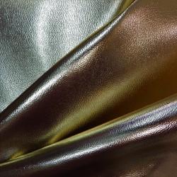 Tissu simili cuir doré :  22917