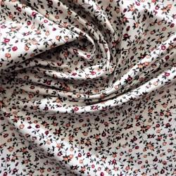 Tissu coton à petites fleurs / Réf : 22923