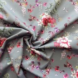 Tissu sergé coton extensible : 12227