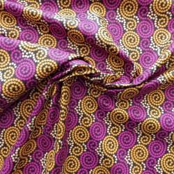 Tissu coton style wax : 22947