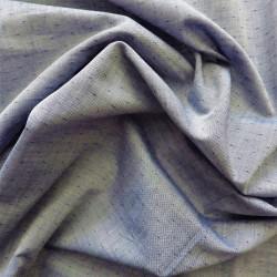 Tissu  chambray coton plumetis : 22951