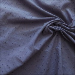 Tissu broderie anglaise coton : 12778