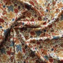 Tissu viscose digital vintage  : 22955