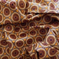 Tissu wax à paillettes : 22957