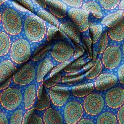 Tissu coton à impression digital : 22964