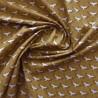 Tissu coton à oiseaux grue : 22962