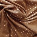 Tissu viscose à pointillés argentés : 22977