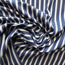 Tissu popeline coton à rayures, 22982