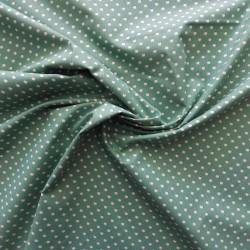 Tissu coton à imprimé pois : 22987