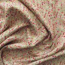 Tissu twill viscose à fleurs : 22989