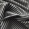Tissu coton rayé à fil argenté : 22991