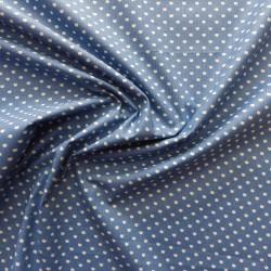 Tissu coton imprimé à pois : 23001