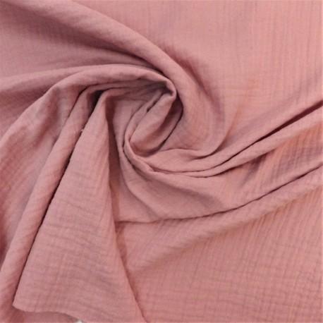 Tissu double gaze coton: 23005