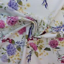 Tissu gabardine coton : 19.65€