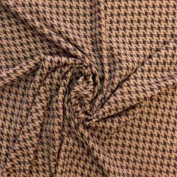 Polyester pied de coq : 14.50€