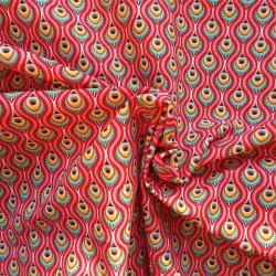 Tissu coton éventail :7.80€