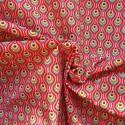 Tissu coton plume de paon :7.80€