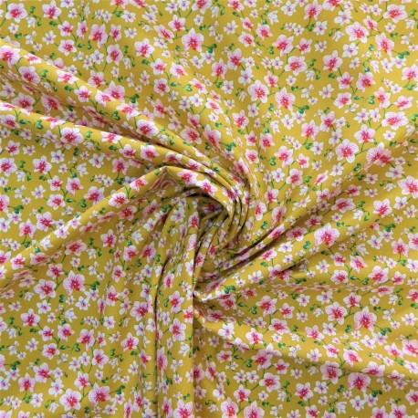 Tissu coton bouquet : 7.80€