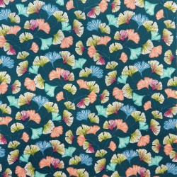 Coton feuilles ginkgo : 7.80€