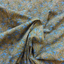 Coton à feuilles stylisées : 7.80€
