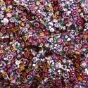 Tissu Viscose flowers : 10.90€