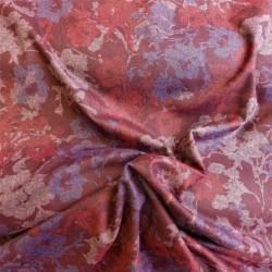Tissu lainage flowers : 15.70€