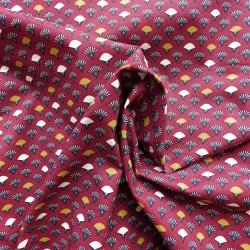 Tissu coton éventail :7.95€