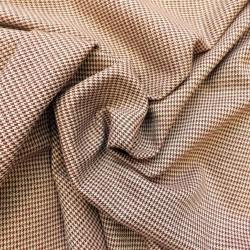 Tissu pied de poule à fil lurex : 14.80€