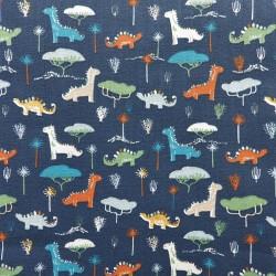 Tissu coton dinosaure : 7.95€