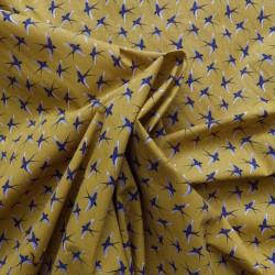 Tissu coton à hirondelles : 7.80€