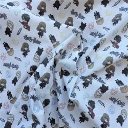 Tissu popeline coton bio Harry Potter : 12.75€