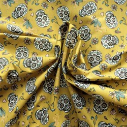 Tissu coton Calaveras : 7.95€