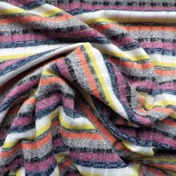Maille tricot côtelée à fils lurex: 15.00€