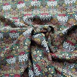 Tissu coton bio chloris : 9.50€