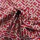 Tissu popeline coton   red summer : 8.50€