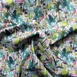 Tissu coton bio garden : 9.50€