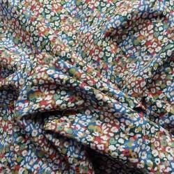 Tissu coton bio impressionniste : 9.50€