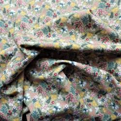 Tissu coton bio summer : 9.50€