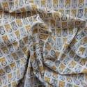 Tissu coton à hiboux : 7.95€