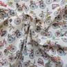 Tissu cretonne coton à vélos :9.50€