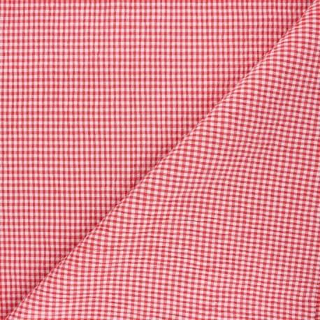 Tissu seersucker carreaux : 9.90€