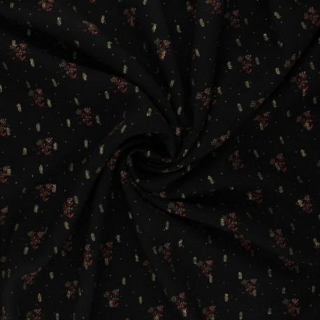 Tissu viscose à lurex Peneloppe :14.85€