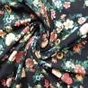 Tissu jersey à fleurs : 11.85€