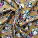 Tissu jersey à fleurs: 11.85€