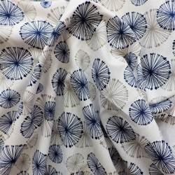 Tissu coton à fleurs pissenlits: 7.80€
