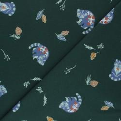 Tissu jersey coton forest: 11.85€