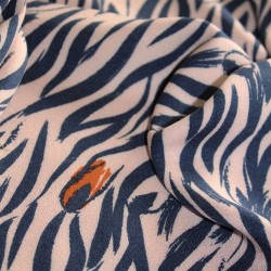 Crêpe viscose Zebra : 22.50€