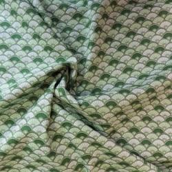 Tissu coton à éventail : 8.50€